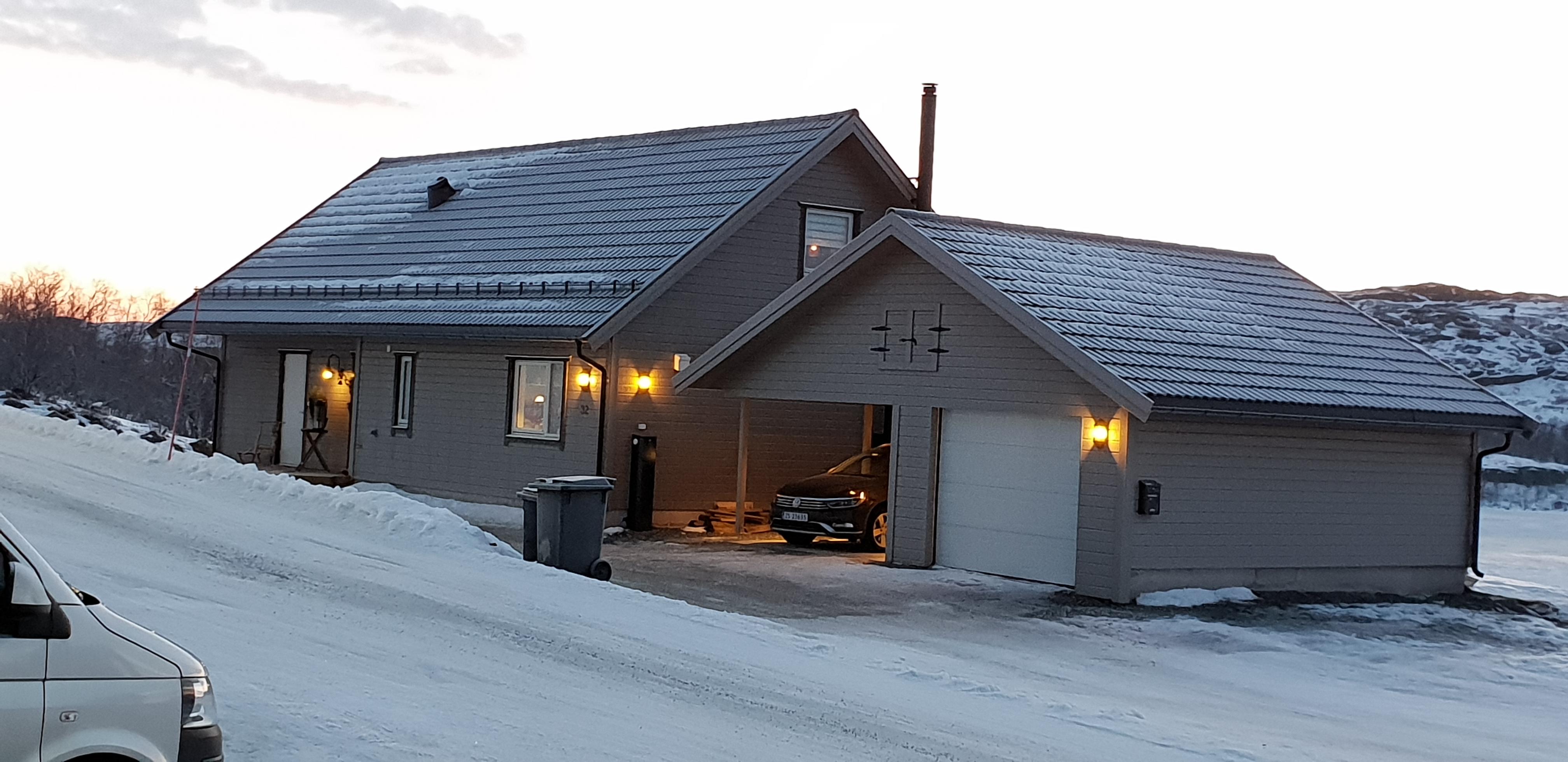 Hus på Skytterhusfjellet, Kirkenes
